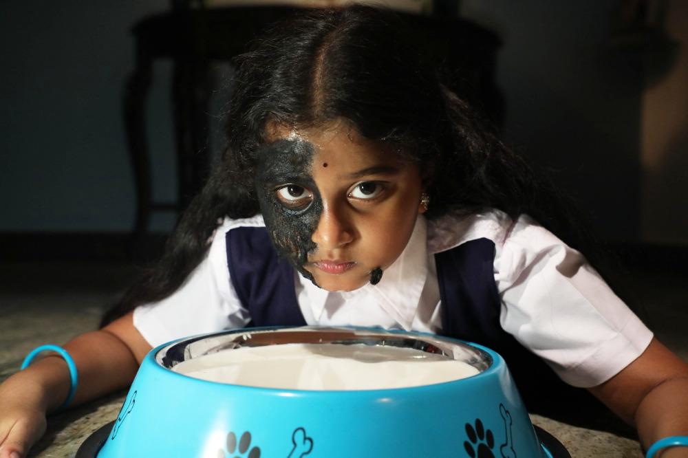 Baby Sai Tejaswini in Yerra Cheera Movie Stills