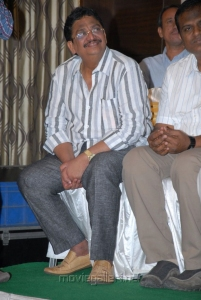 Producer C.Kalyan at Yeto Vellipoyindi Manasu Movie Success Meet Stills