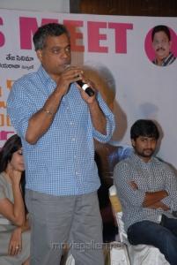 Director Gautham Vasudev Menon at Yeto Vellipoyindi Manasu Success Meet Stills