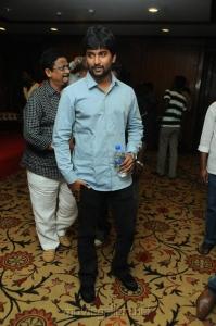 Actor Nani at Yeto Vellipoyindi Manasu Pre-Release Press Meet Photos