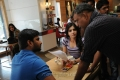 Nani,Samantha,Gautham Menon at Yeto Vellipoyindi Manasu Working Stills