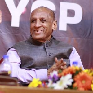 Andhra Pradesh Governor ESL Narasimhan at YGP 100th Birth Centenary Celebration Photos