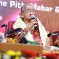 Mrs YGP Rajalakshmi Parthasarathy @ YGP 100th Birth Centenary Celebration Photos