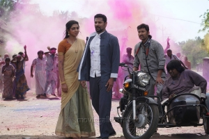 Lakshmi Menon, Prabhu Deva, RJ Balaji in Yung Mung Sung Movie Stills