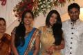 Actress Sneha at Yuva Bharathi Wedding Reception
