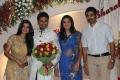 Prasanna, Sneha at Yuva Bharathi Wedding Reception