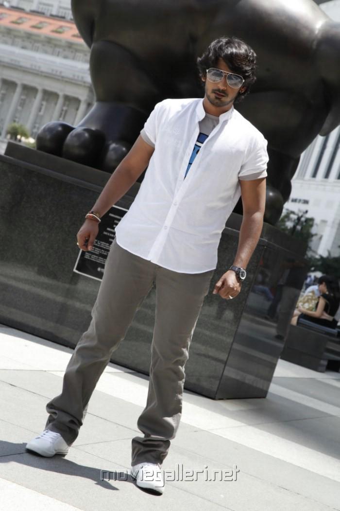 Actor Prajwal Devaraj in Yuvakudu Telugu Movie Stills
