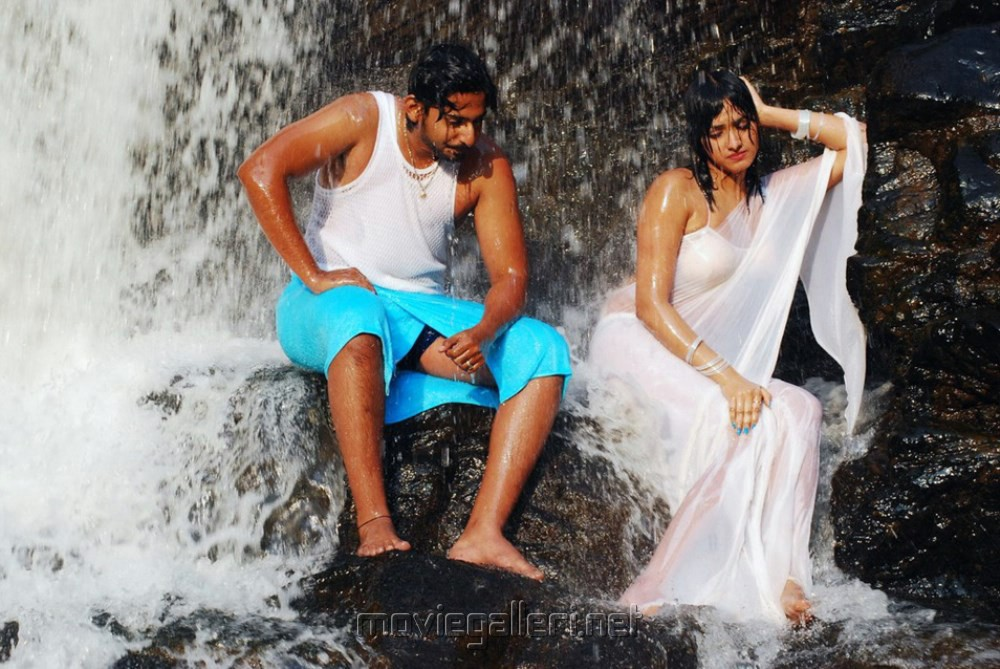 Prajwal Devaraj, Haripriya in Yuvakudu Movie Hot Photos