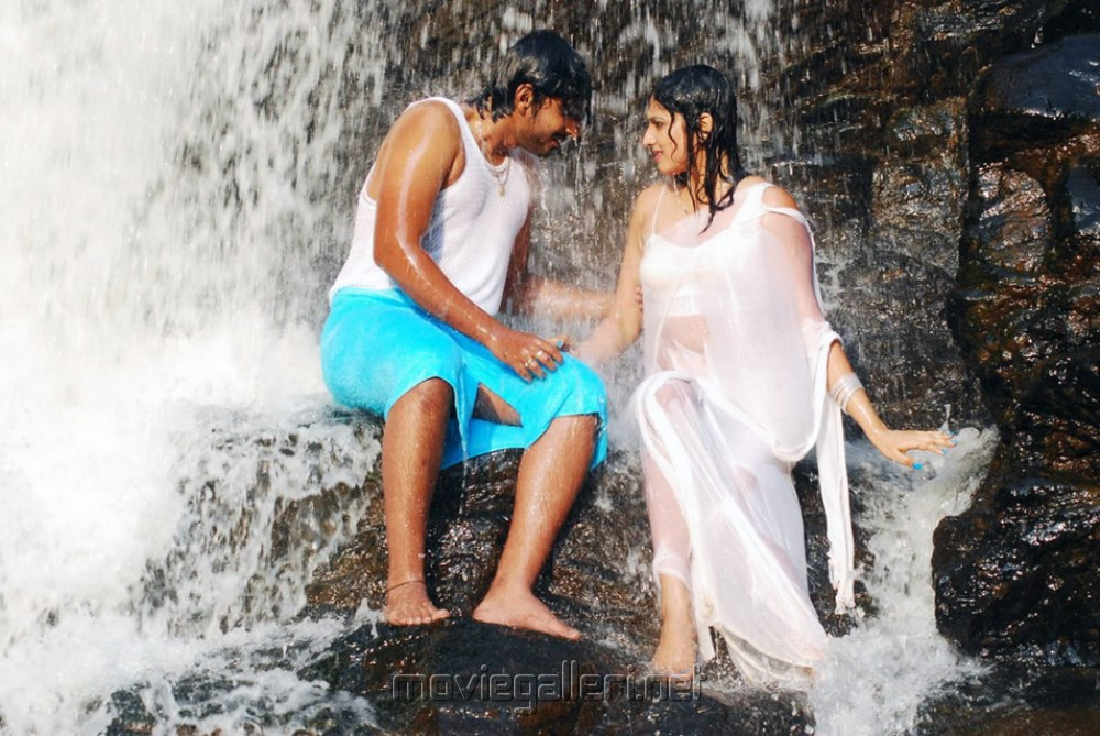 Prajwal Devaraj, Haripriya in Yuvakudu Movie Hot Spicy Photos