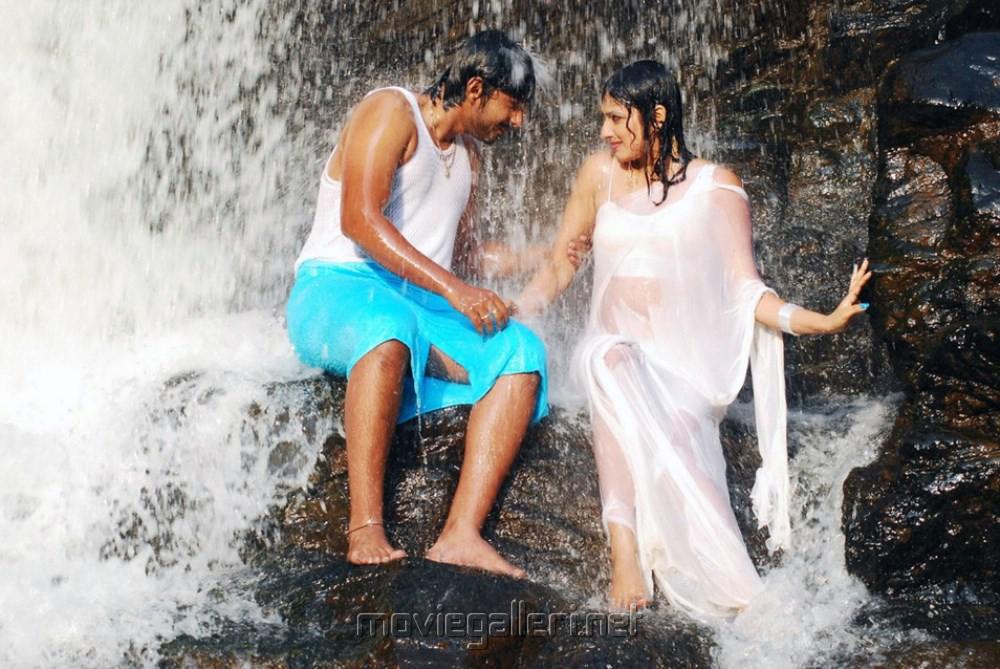 Prajwal Devaraj, Haripriya in Yuvakudu Movie Hot Photos