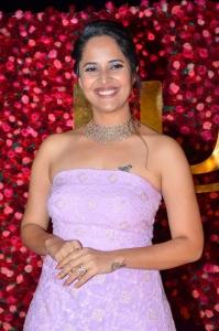 Actress Anasuya @ Zee Telugu Cine Awards 2020 Red Carpet Stills