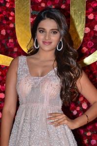 Actress Nidhi Agarwal @ Zee Telugu Cine Awards 2020 Red Carpet Stills