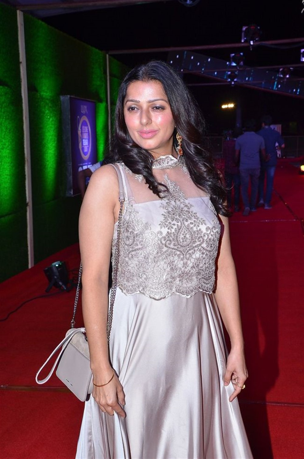 Actress Bhumika Chawla @ Zee Telugu Cine Awards 2020 Red Carpet Stills