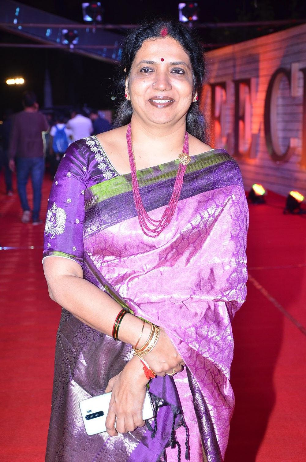Actress Jeevitha @ Zee Telugu Cine Awards 2020 Red Carpet Stills