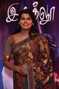 Dharma Durai Movie Transgender actress Jeeva @ Zee5 Igloo Web Series Screening Press Meet Stills