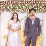 Vikranth Manasa Marriage Reception Stills