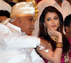 Actress Aishwarya Rai @ World Kannada Convention Stills