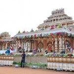 Allu Arjun Sneha Reddy Pelli Mandapam Decorations Images