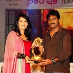 Anushka at Santosham Film Awards 2009 Stills