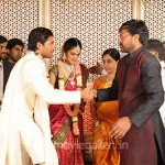 Chiranjeevi @ Allu Arjun Engagement Photos