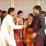 Chiranjeevi @ Allu Arjun Engagement Photos