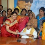 Kushboo DMK Joining Photos