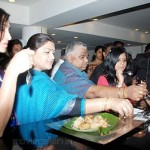 Actress Kushboo @ Food Competition Sathyam Cinemas Stills