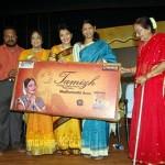 Kanimozhi at Madhuvanthi Arun DVD Launch Stills