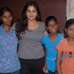 Namitha Meets India Childrens Welfare Association Stills