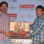 RGV Launches Kalamandir Calendar 2011 Photo Gallery