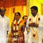 Rajini @ R M Veerappan Son Wedding Photos