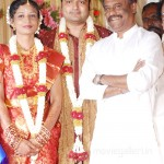 Rajini @ SSR Son Wedding Reception Stills, SSR Son Wedding Reception Photo Gallery