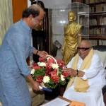 Rajinikanth meets CM Event Gallery, Stills, Pics, Photos