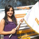 Ritu Barmecha Flags off Matrimony Xpress