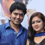 Sakthi Vasu, Meghna Sundar @ Kalla Sirippazhaga Movie Launch