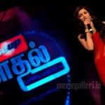 Shruti In Close-Up 'Kadhal-Unplugged' Vijay TV Event Gallery
