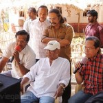 Sri Rama Rajyam Movie Working Stills Photo Gallery