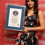 Trisha @ Colgate & IDA Guinness World Record Event Stills