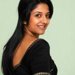 Vimala Raman Black Saree Stills