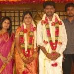 Vijay Family in Vikranth Marriage Stills