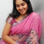 Neenu Karthika Hot Stills in Saree