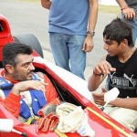 Ajith Car Race Photos, Ajith at the Race Track Stills