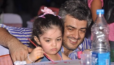 Ajith Daughter Anoushka @ Venkat Prabhu's Home Function Gallery
