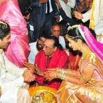 Allu Arjun and Sneha Reddy Marriage Stills