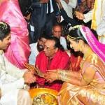 Allu Arjun and Sneha Reddy Marriage Stills