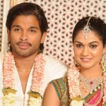 Allu Arjun Sneha Reddy Wedding Engagement Stills