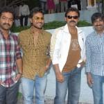 Jr NTR, Ravi Teja, Venkatesh, Ram Charan Teja @ Eega Movie Opening Stills