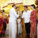 Kamal, Gowthami @ Soundarya Rajinikanth Wedding Photos
