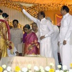 Rajini @ Durai Dayanidhi Alagiri Wedding Reception Stills