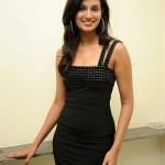 Sayali Bhagat Latest Black Dress Stills, Sayali Bhagat Hot Photoshoot Images
